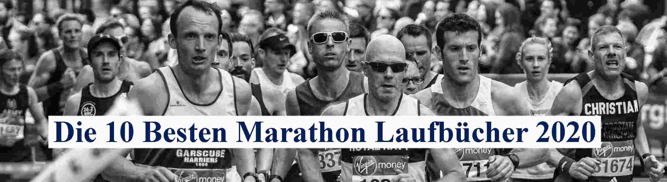 Bild die 10 besten Marathon Laufbücher 2020