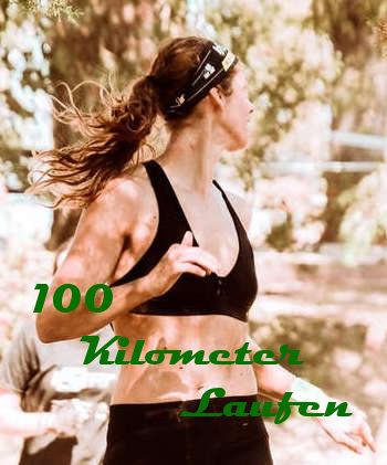 100 Kilometer Laufen Frau