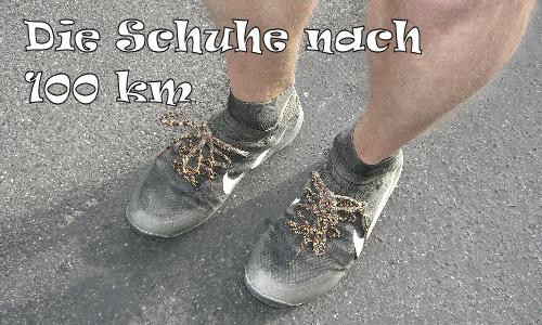 Schuhe nach 100 km