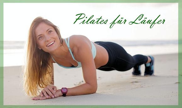 Pilates Training am Strand